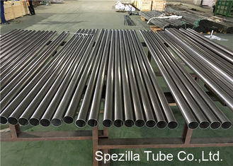 China Duplex Welded Steel Pipe ASTM A789 UNS S31803 Bright Annealed Stainless Steel Tube supplier