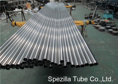 China TP304L ASTM A270 Stainless Steel Sanitary Pipe 3'' X 0.065'' X 20'' with OD / ID 320 Grit Polish supplier