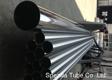 China TP316 / 316L ASTM A270 Stainless Steel Welded Pipe For Food / Beverage Industry supplier