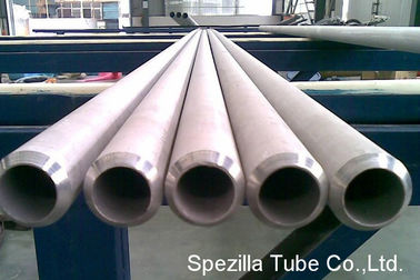 China ERW Seamless Stainless Steel Heat Exchanger Tubes / Tubing 12000 MM Length supplier