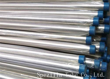 China BPE SF1 Polished TP316L Seamless Stainless Steel Sanitary Pipe for Bioprocessing supplier