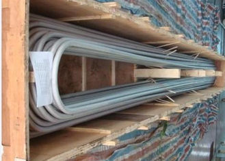 China Stainless Steel Cold Drawn U bend Tube ASMESA213 ASMESA249 AISI 304 316L supplier