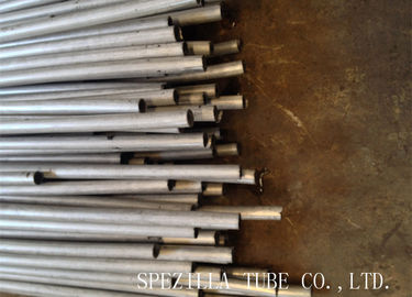 China Plain End Stainless Steel Seamless Tubing / Solution Pickled Cold Drawn Tubes supplier