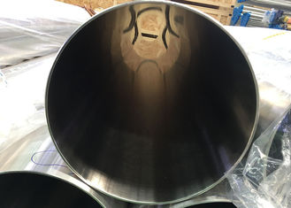 China 12'' OD Grade TP304 Polished Stainless Steel Round Tube ID 0.5um And OD 0.8um supplier