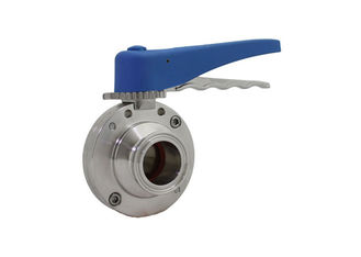 "China Tri Clamp End Stainless Steel Sanitary Valves 3/4""-4"" For Shutting Off A Flow Of Liquid supplier"