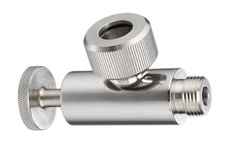 China AISI 316L AISI 304 Stainless Steel Sanitary Valves With Double Silicone O - Rings supplier