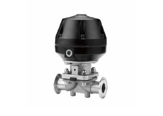 China TP316L DN25-100 Hygienic Valves / Pneumatic Diaphragm Valve ISO 9001 Certificate supplier