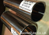 China A270 Stainless Steel Sanitary Pipe 38.1 X 2.0MM Polished Sanitary Stainless Tubing company