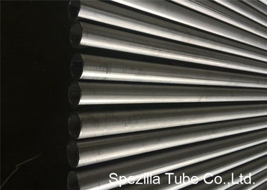 Welded ASTM A249 Stainless Steel Heat Exchanger Tube Inside Bead Removed for Falling Film Evaporator