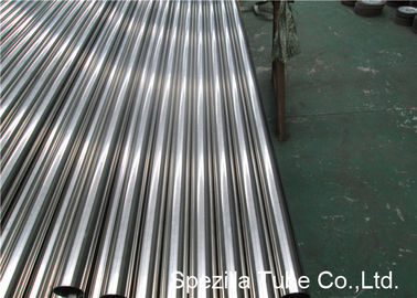 Bright Annealed Stainless Steel Sanitary Pipe 6.1 Mtr Length ID Ra 0.8 Max