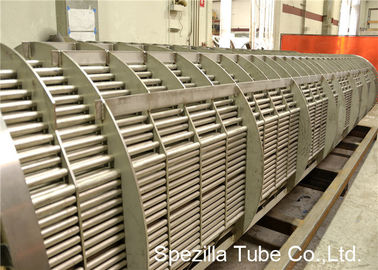 TIG Welding SS Pipe Stainless Steel Heat Exchanger Tube , Bright Annealed Stainless Steel Tube Bead Removed
