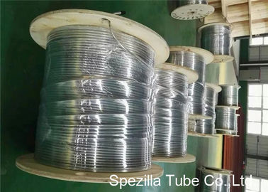 TP316Ti Stainless Steel Coil Tubing Seamless Round Tube Wst. 1.4571 UNS S31635