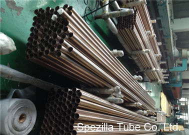 Fully Annealed 95 / 5 Cupro Nickel Tubes Seamless Mechanical Tubing