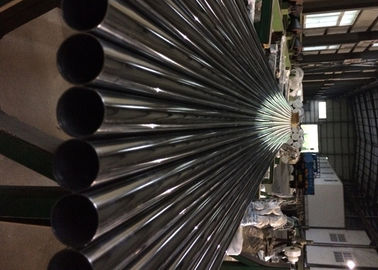 1.4301 AISI304 Welded Stainless Steel Tube Round Type ASTM A312 Standard Annealed