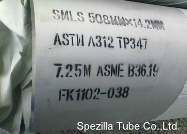 "TP347 / 347H Stainless Steel Seamless Pipe Large Diameter NPS24"" ASTM A312"