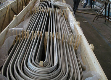 SA213 TP347H Stainless Steel Seamless Tube U Bend Pipe Cold Drawn Pickled