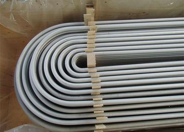 SA213 TP304 Cold Drawn Stainless Steel U Bend Pipe For Heat Exchanger
