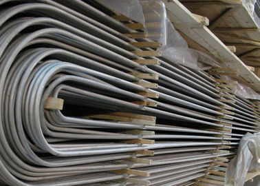 Stainless Steel Cold Drawn U Bend Pipe ASMESA213 ASMESA249 AISI 304 316L