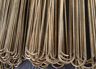 C68700 Aluminum Brass Seamless Tube U Bend Pipe Heat Exchanger