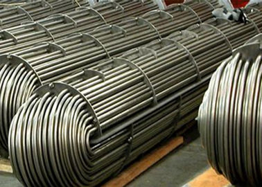 Stainless Steel Seamless U Bend Pipe Annealed SA213 TP304N UNS S30451