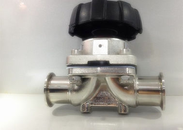 ASME BPE 2 Way Stainless Steel Sanitary Valves 2'' X 0.065'' With Tri Clamp Ends