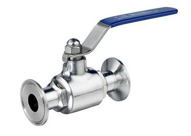 SPEZILLA Hygienic 2 Way Ball Valve Stainless Steel AISI 304 With 180 Degree Rotary Handle