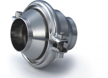 Non Return Sanitary Check Valves Finely Finished Surface , EPDM Standard Seal Material