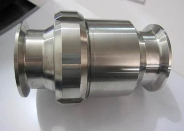 Hygienic Grade Stainless Check Valve One Way Flow Direction For Water Pipelines