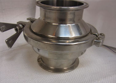 Field Serviceable Sanitary Check Valves For Low And Medium Viscosity Fluids