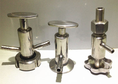 "1""-4"" Stainless Steel Sanitary Valves Weld Connection Both Membrane Functions"