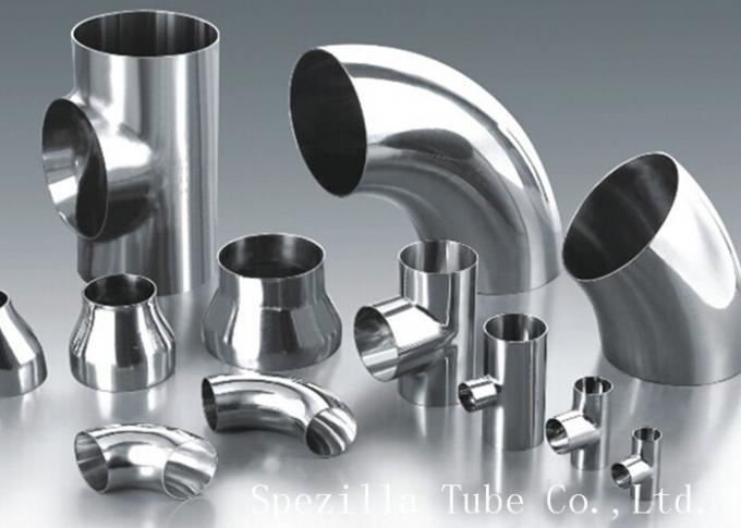 ASME SA270 Stainless Steel 304 Sanitary Clamp Pipe Fittings Elbows For Food line