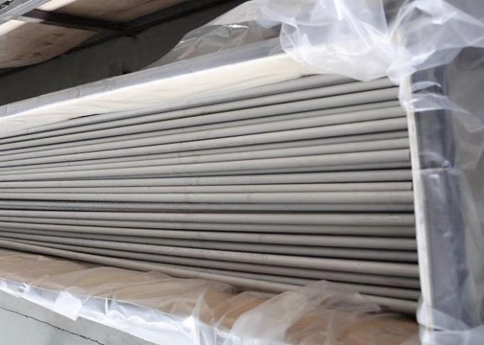 Annealed And Pickled Stainless Steel Tubing , Sanitary Round Steel Tubing