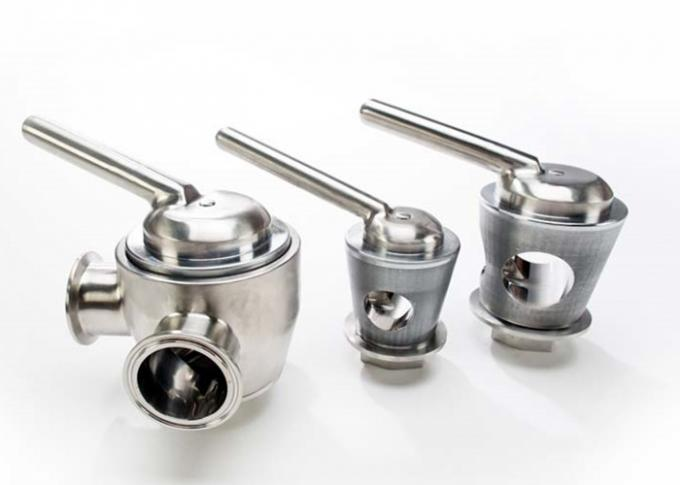 Cavity Filled Stainless Steel Sanitary Valves For Pharmaceutical And Biotechnology Industries