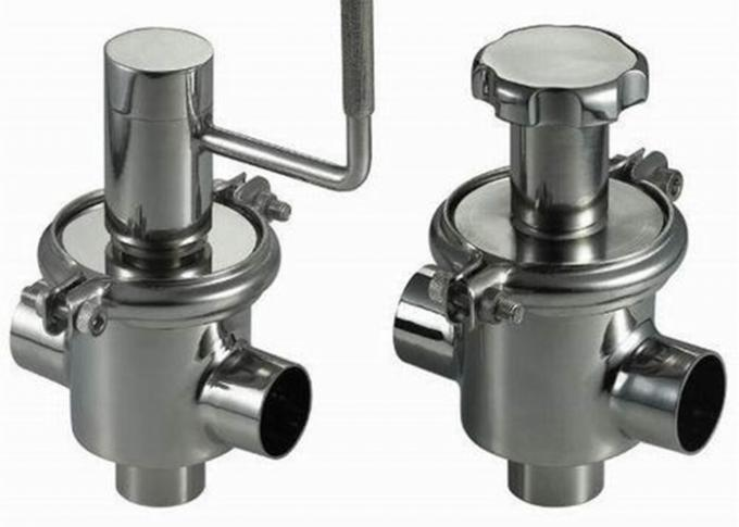 Durable 3A A270 Sanitary Check Valves With Full Size Flow Plate , Various End Connections
