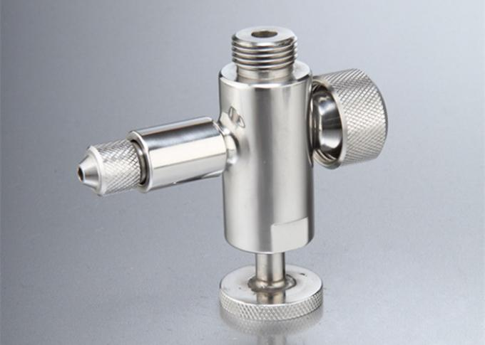Manual Operated Aseptic Sample Valve , Sanitary Sampling Valve Stainless Steel