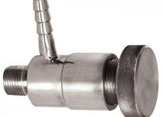 AISI 316L 1.4404 Stainless Steel Sanitary Valves Tri Clamp End ISO9001 Approval
