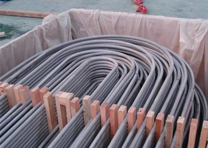 ASTM B677 TP904L Stainless Steel Seamless U Bend Pipe  for Heat Exchanger