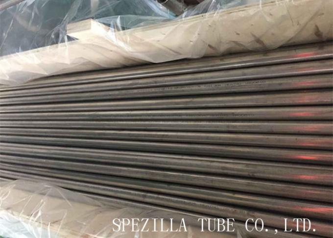 Seamless Cold Drawn Steel Tube Custom Length Ss Seamless Pipe / High Pressure Stainless Steel Tubing ASTM A213