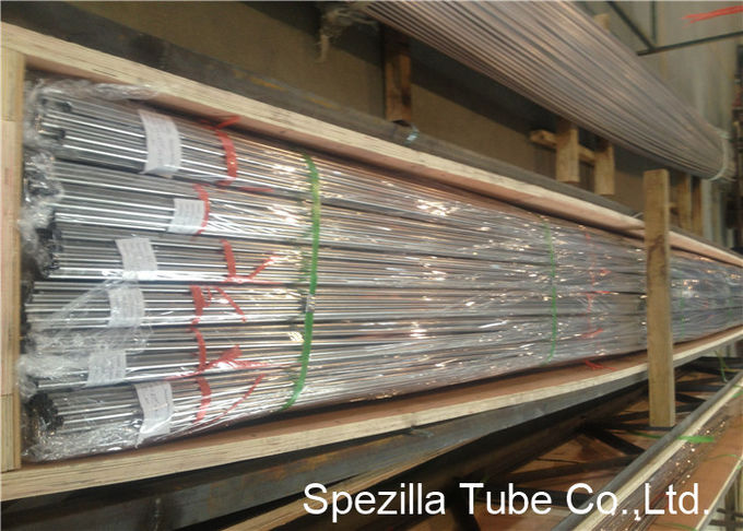 Metric Stainless Steel Instrumentation Tubing ASTM A249 TP316L 6.00 X 1.00MM