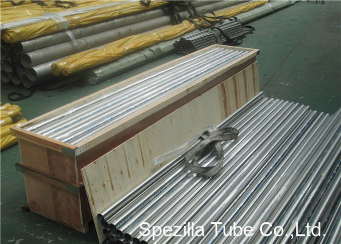 DIN EN10357 Stainless Steel Sanitary Pipe , DN10 - DN200 Stainless Steel Dairy Tube