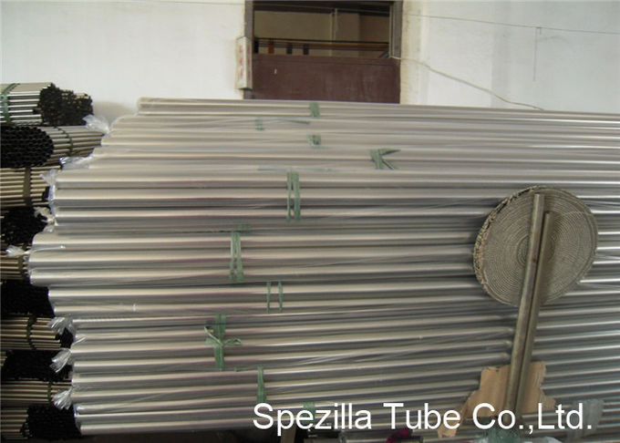 ASTM A213 TP304 Stainless Steel Heat Exchanger Tube OD 5/8'' - 1'' Seamless Boiler Tubes