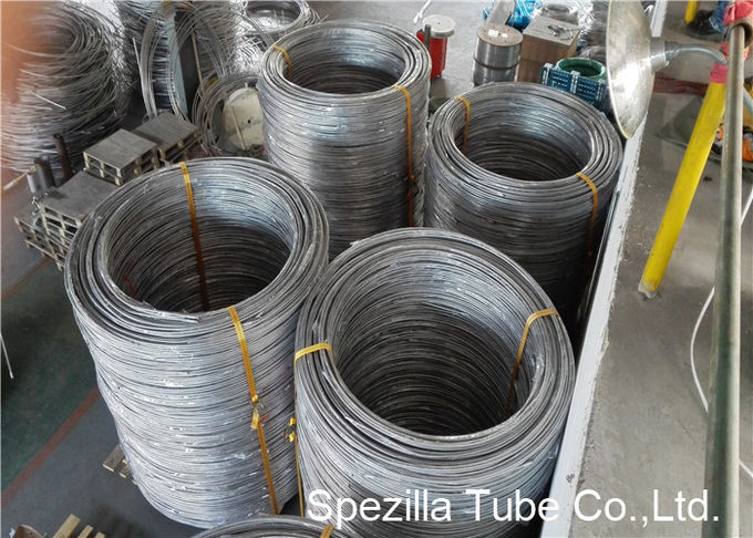 ASTM A269 TP316L Annealed Stainless Steel Coil Tubing SS Seamless Pipes OD 1/4'' X 0.035''