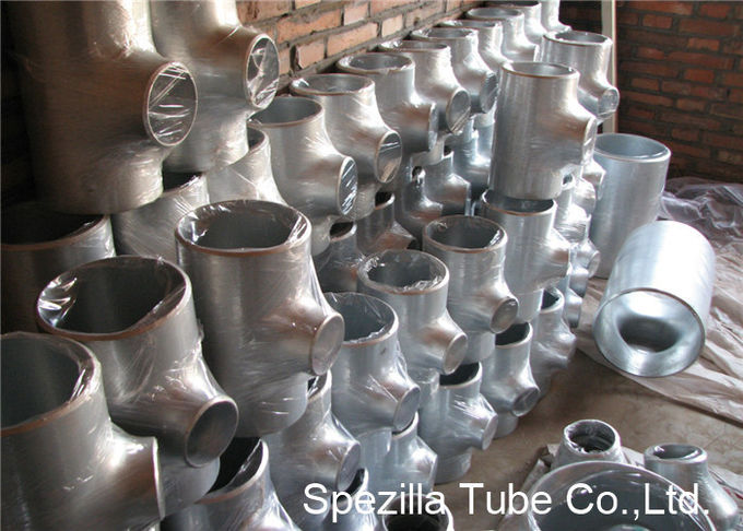 SS Pipe Fittings 1/2'' - 24''  Straight Tee , Butt Weld Stainless Steel Pipe Fittings